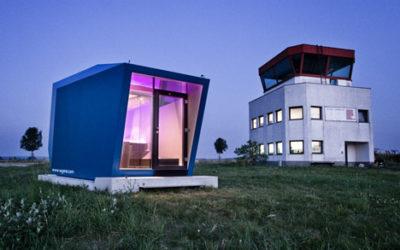 Arriva l'hotel mobile HyperCubus: una struttura temporanea per immergersi nel paesaggio