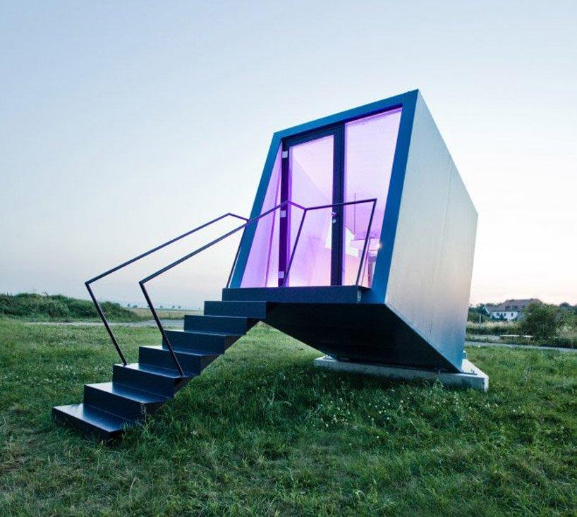 Photo of Arriva l'hotel mobile HyperCubus: una struttura temporanea per immergersi nel paesaggio