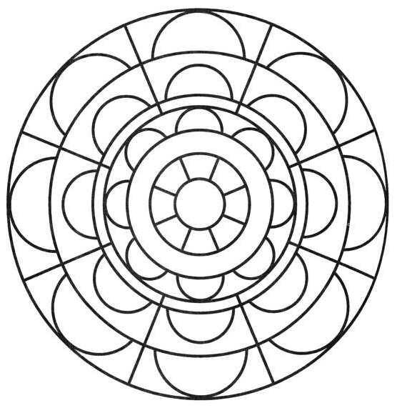 Mandala cosa sono e da colorare tuttogreen for Mandala da colorare con animali