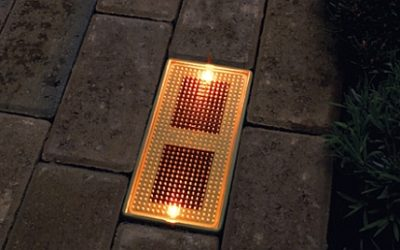 Sun Bricks: arriva il mattone fotovoltaico a LED per illuminare i vostri giardini