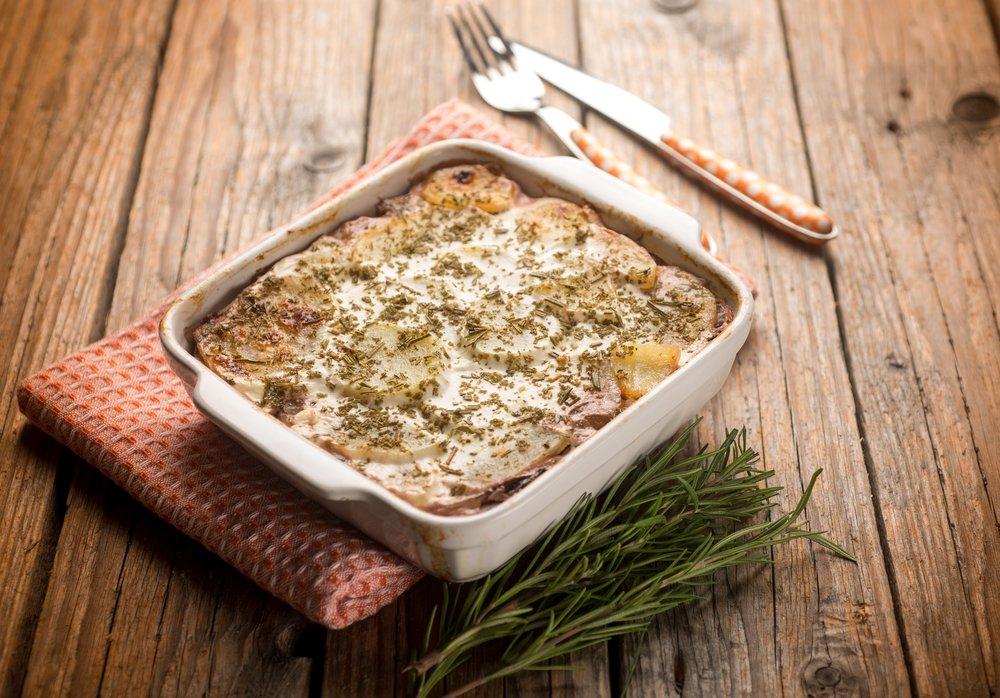 Photo of Parmigiana di patate, la ricetta classica e quella senza latte