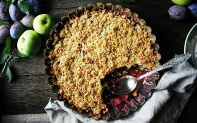 Crumble di mele: la versione classica e quella vegana