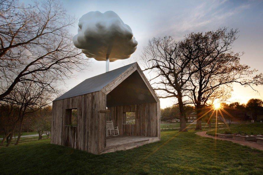 Photo of La casa con la nuvola che fa piovere su richiesta