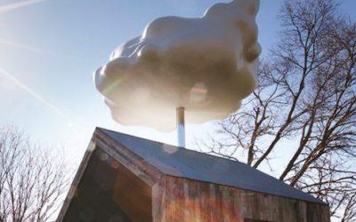 La casa con la nuvola che fa piovere su richiesta