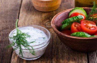 Salsa allo yogurt per insalata e non solo…