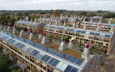 BedZed, l'eco-villaggio più grande d'Inghilterra