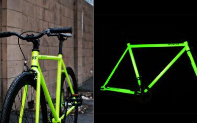 Kilo: il telaio per biciclette che diventa fuorescente di notte