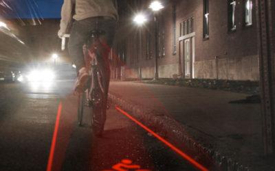 Bike Lane Safety Light: il laser per la bici