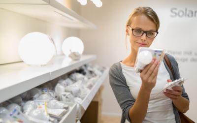 Etichetta energetica delle lampadine per uso domestico: come leggerla