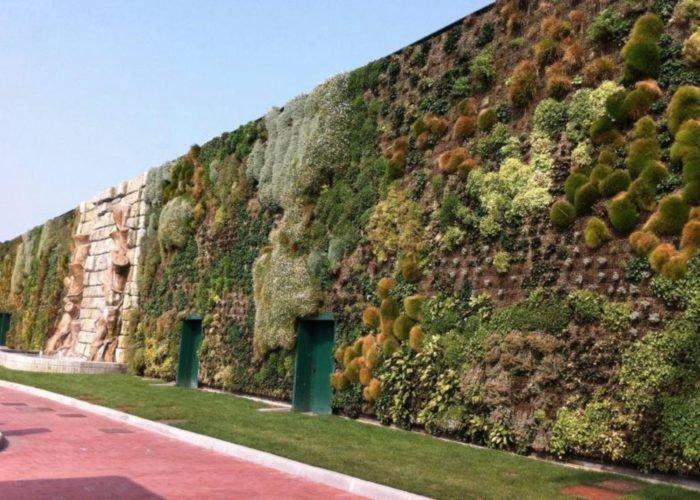 giardino verticale fiordaliso rozzano