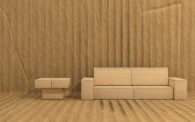 Scopriamo i mobili in cartone, eco-sostenibili ma anche belli e resistenti