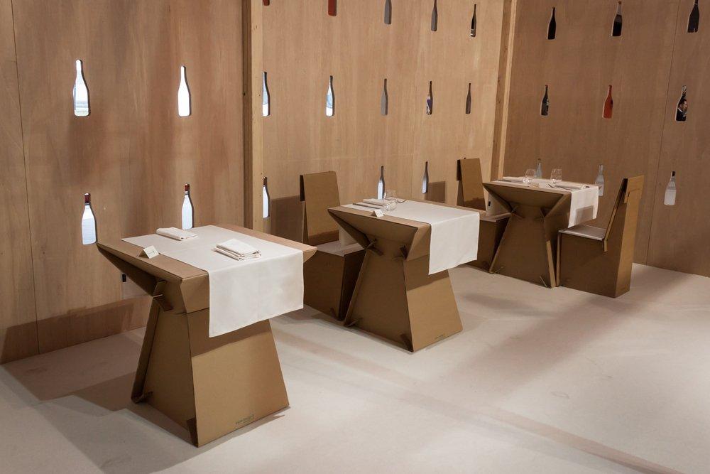 Photo of Scopriamo i mobili in cartone, eco-sostenibili, ma anche belli e resistenti