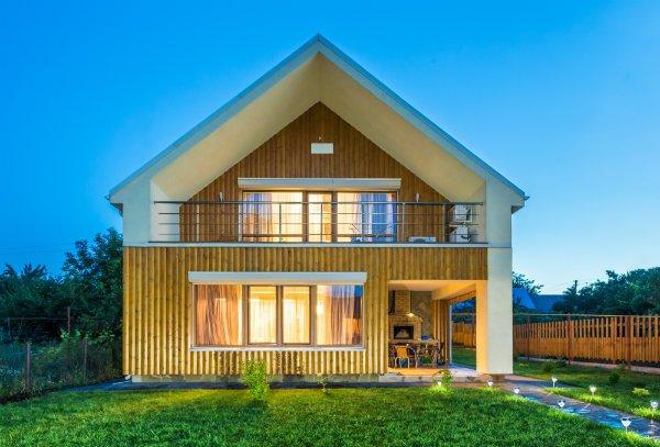 Case Di Montagna In Legno : Bioedilizia e risparmio energetico le casette in legno di novello