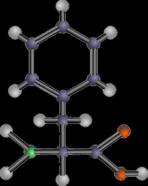 fenilalanina chimica
