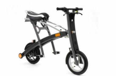 Stigo Bike: lo scooter elettrico che si piega sottile sottile