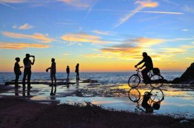 Liguria in bicicletta: la nuova pista ciclabile a Sanremo, Riviera dei fiori