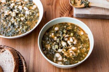 Zuppa di fagioli cannellini e cavolo nero: ricetta e ingredienti