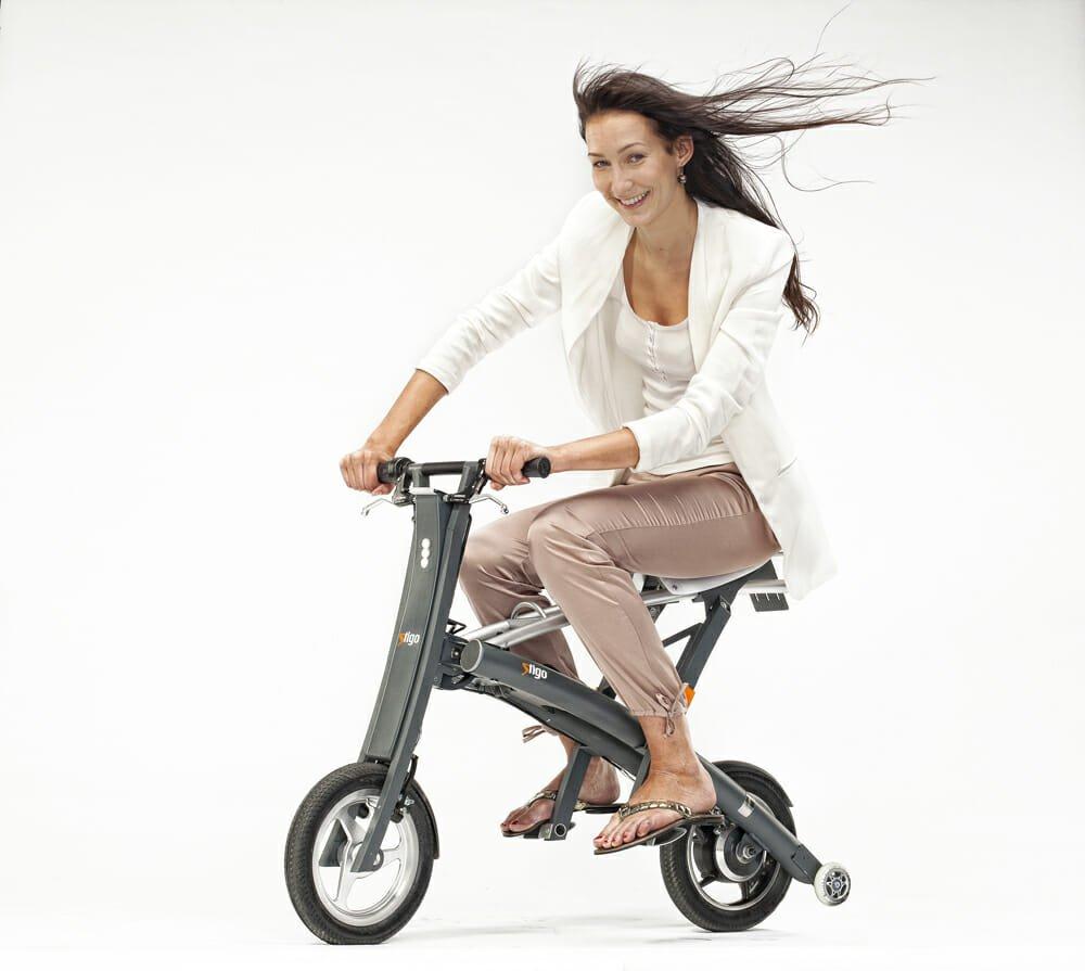 Photo of Stigo Bike: lo scooter elettrico che si piega sottile sottile