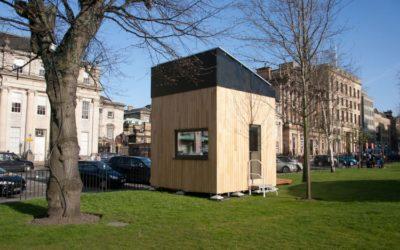 The Cube: una Eco-casa in soli 9 mq