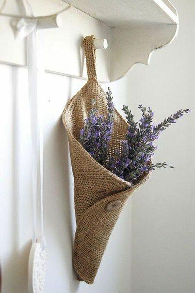Photo of Come riciclare sacchi di iuta per dare un tocco raw e vintage alla casa