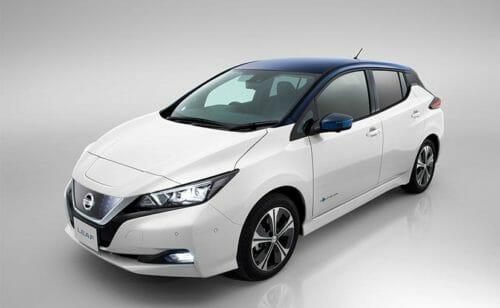 auto elettriche 2018 nissan leaf