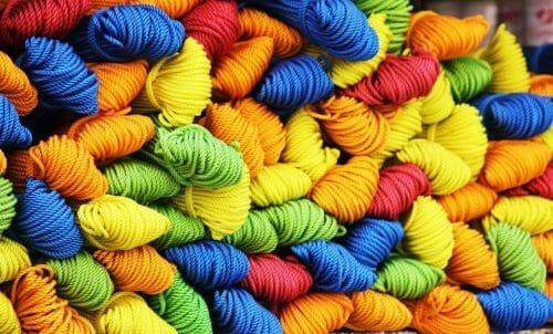 Riciclare gomitoli di lana
