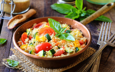 Ricette cous cous: alle verdure, ai funghi, al curry, ai broccoli…