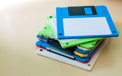 Come riciclare vecchi floppy disk: la guida con tante idee