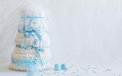 Torta di pannolini: una nuova tendenza, utile ed ecologica