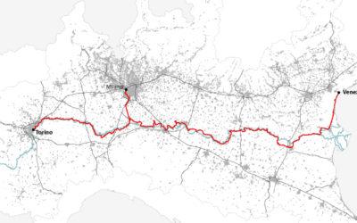 Da Torino a Venezia in bici: nasce VenTo il progetto della mega-ciclabile sul Po