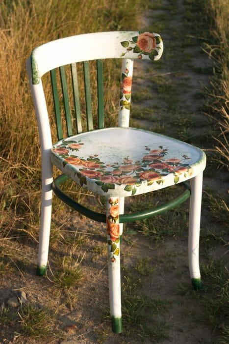 Decoupage su legno materiali tecniche e consigli pratici tuttogreen - Decoupage su mobili in legno ...