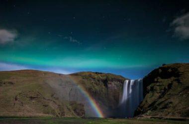 Moonbow, l'arcobaleno notturno da luce lunare