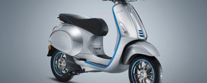 Scooter Vespa-elettrica