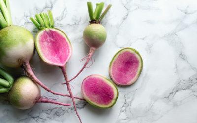 Non solo bello: alla scoperta del ravanello pompelmo o ravanello anguria