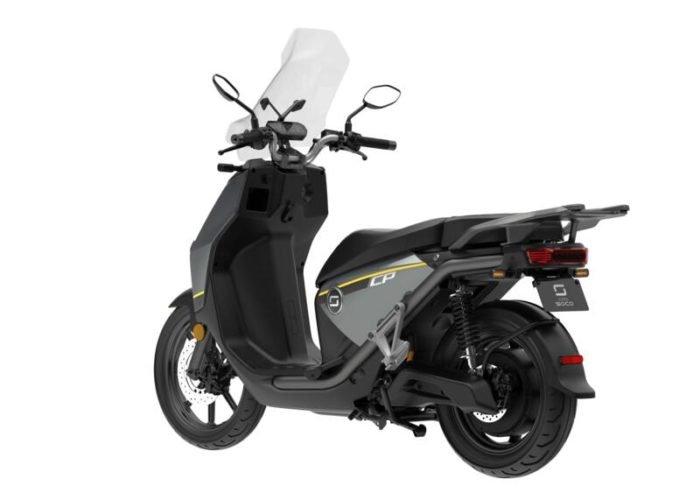 Scooter super-soco-cpx