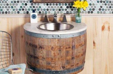 Lavandini vintage ricavati da botti di vino: dalla California un upcycle di design
