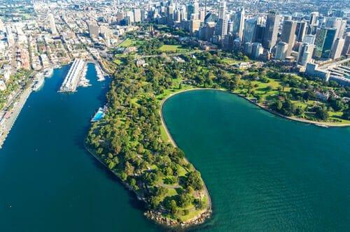 giardini botanici più belli del mondo - Royal Botanic Gardens, Sydney