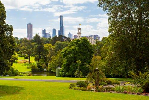 i giardini botanici più belli del mondo - Royal Botanic Gardens, Melbourne