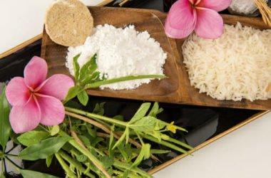 Polvere di riso e make-up: la ricetta per preparare una cipria 100% naturale