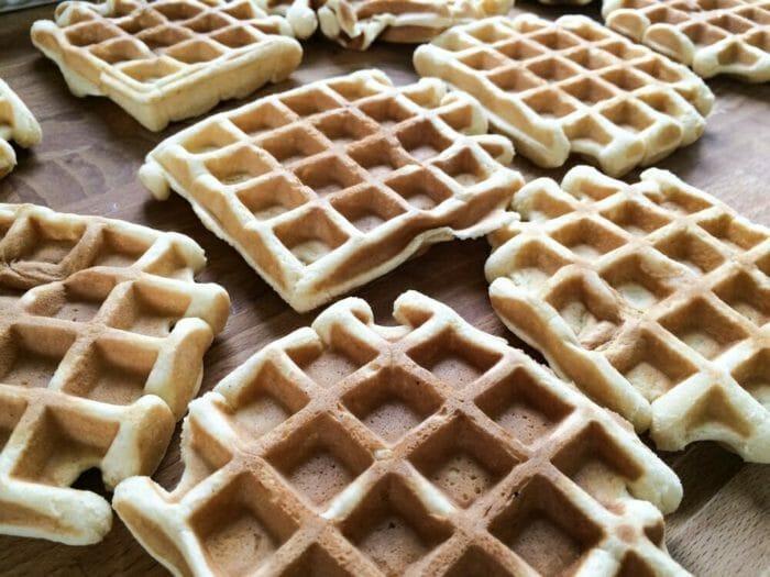 Photo of Waffel alla crema: la ricetta facile di questo dolci conosciuti anche come gauffres o waffles