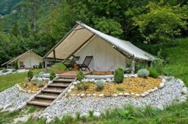 Glamping: relax e natura in una tenda che è come un hotel a 5 stelle