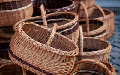 Vimini, un materiale naturale per mobili e cesti