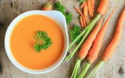 Come preparare la vellutata di carote: la ricetta casalinga