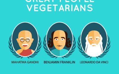 Sai chi sono i vegetariani celebri nella storia e ai nostri tempi? Ecco tutti i VIP vegetariani