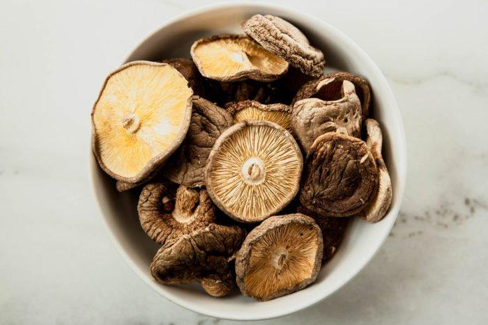 Funghi shiitake: