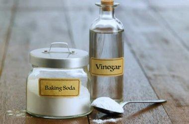 Usare aceto e bicarbonato per pulire tutto quello che c'è in casa: la guida facile