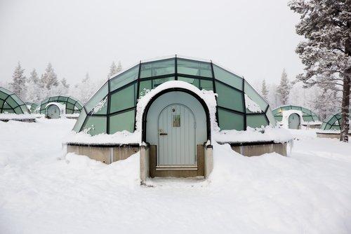Hotel Kakslauttanen in Finlandia