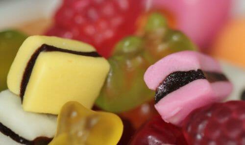 colla di pesce in dolci