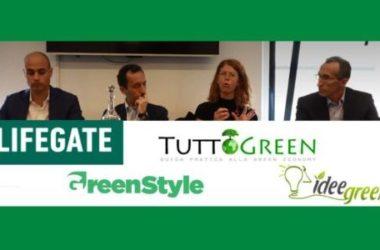 Tuttogreen insieme a Lifegate, Ideegreen e GreenStyle per un nuovo paradigma green: Lifegate Circle