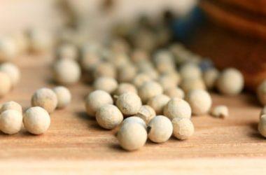 I segreti del pepe bianco e le differenze rispetto al pepe tradizionale